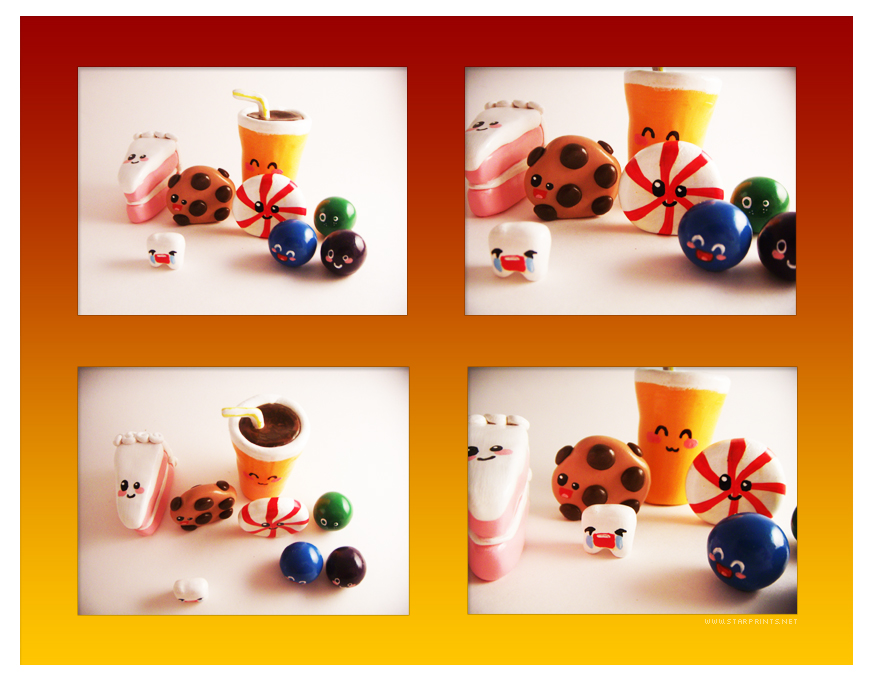 Cute-Craft Junk Food Contest by starprints