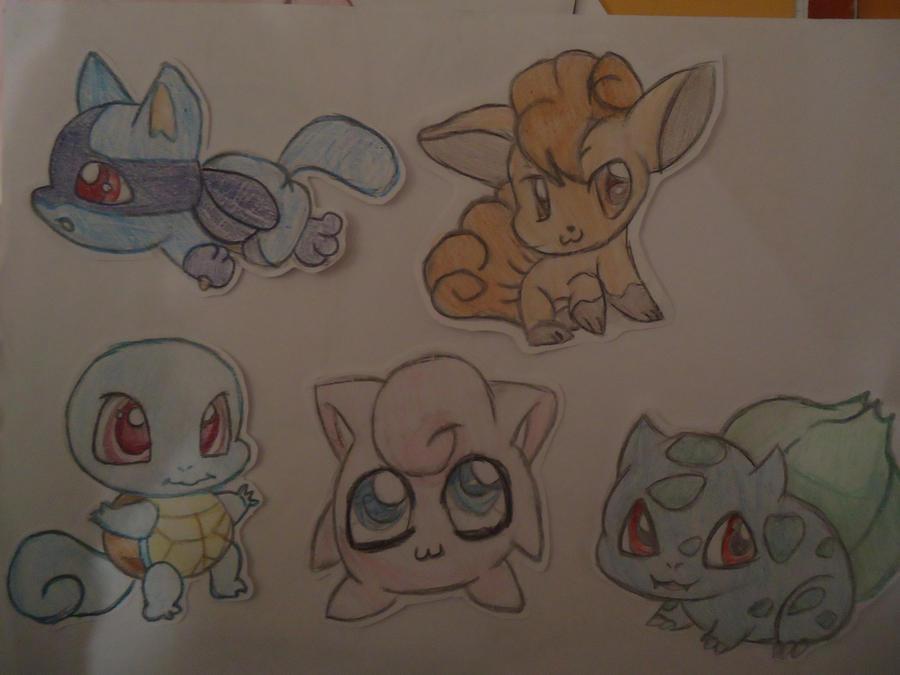 Chibi Pokemon! by Chii-Uso