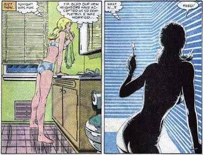 Marvel Comics - Susan Storm in her Underwear by parkjussic