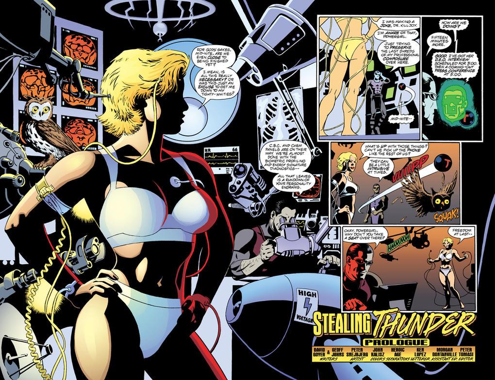 dc comics power girl in her underwear by parkjussic on deviantart