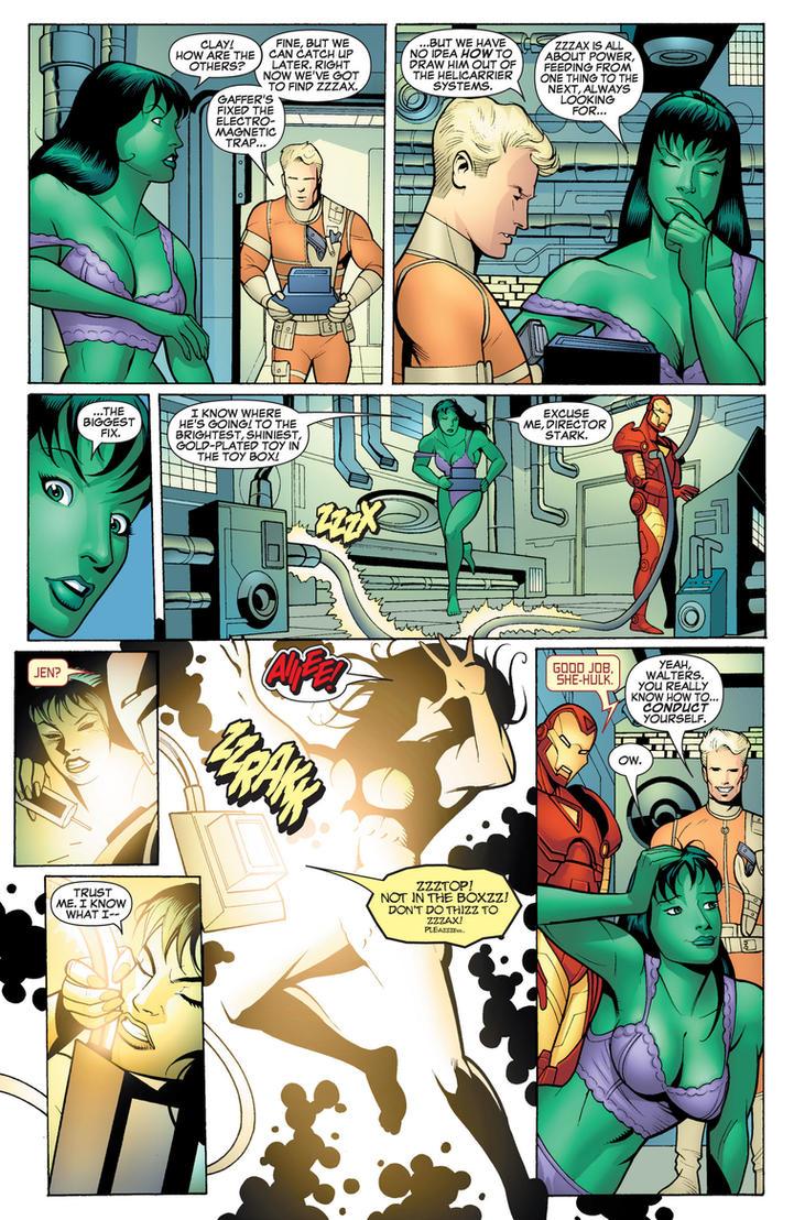 Marvel Comics - Carol Danvers in her Underwear 8 by parkjussic