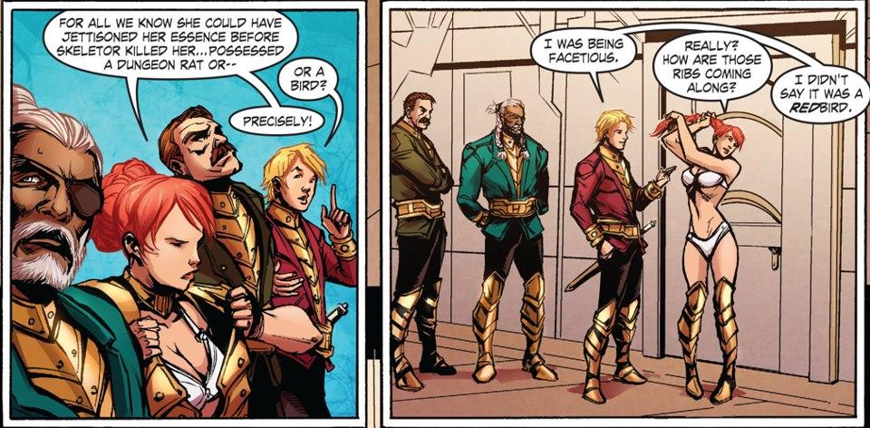 DC Comics - Teela in her Underwear by parkjussic