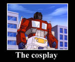 Starscream's awesome cosplay