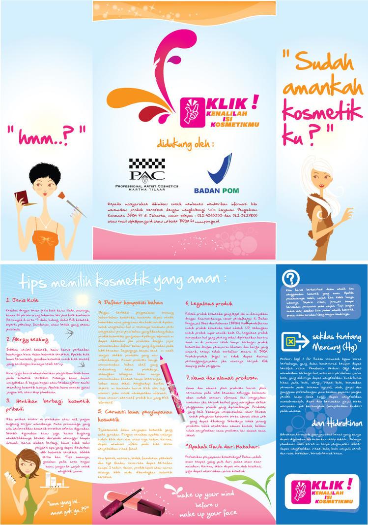 bpom kosmetik leaflet by ezthsuna on deviantart