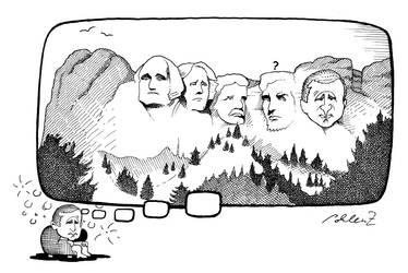 George W. Rushmore by renerl
