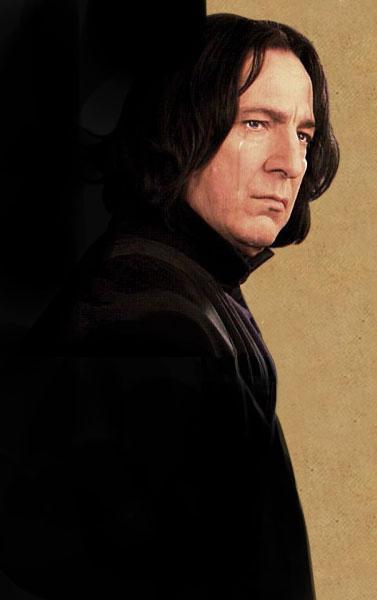 ho fatto piangere piton by Loora-Snape