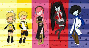 Adventure Time Vocaloid by KimikoTohomikomii