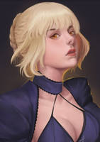 Saber (Alter) by Yiian56