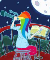 Rainbow the Nerd by KYMSnowman