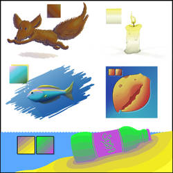 Color Blending Experiments by KYMSnowman