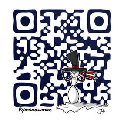 Let's QR this place up! by KYMSnowman