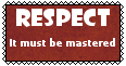 RESPECT- stamp by Masuta-Herushingu