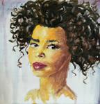 Oil painting head