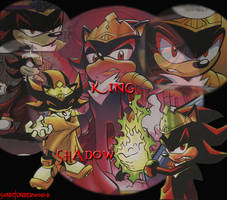 King Shadow by SonicUnderworld