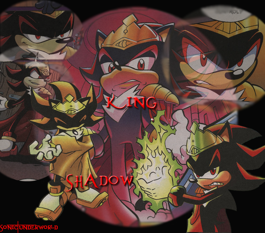King shadow by sonicunderworld on deviantart - Jeux de sonic vs shadow ...