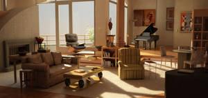 Frasier's Apartment. Again by NeonDuck