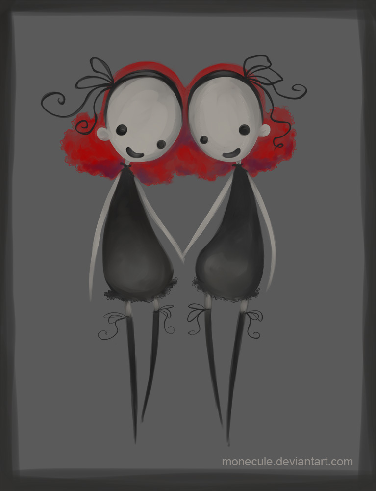 Twins by Monecule