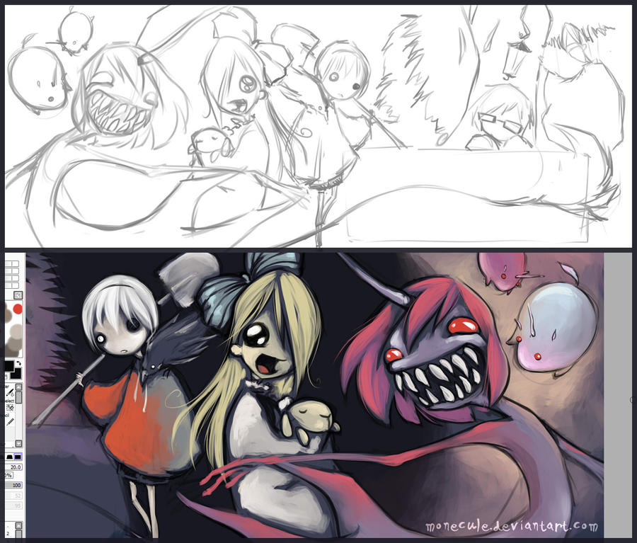 Comics Banner - WIP by Monecule