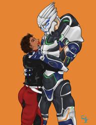 Krandros and Ryder by SamRubio
