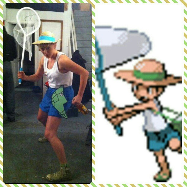 Pokemon bug hunter trainer cosplay by diemortalroom