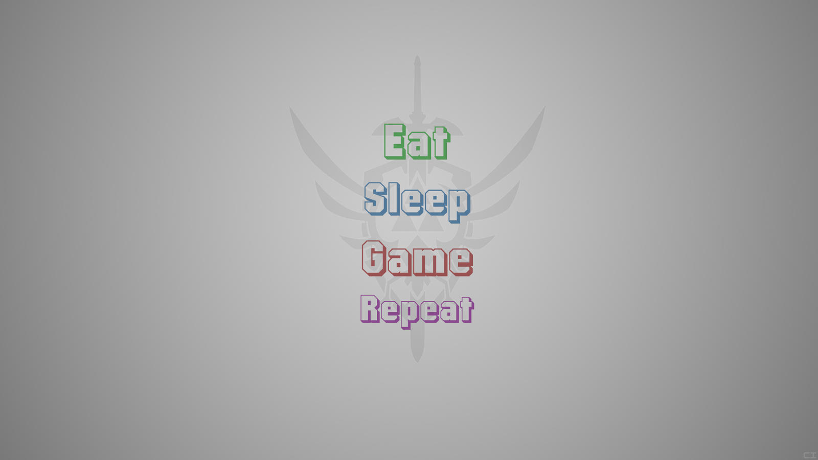 Eat Sleep Game Repeat By QuickZlich On DeviantART Race Wallpaper