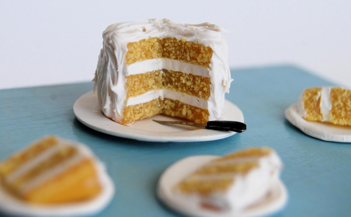 Layer Angle Cake
