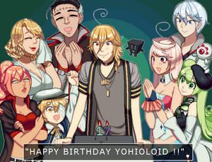Happy Birthday Hio !!