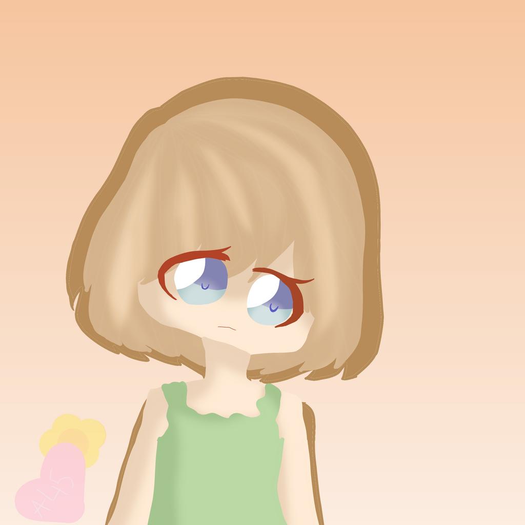 Little child by Ariatoka45