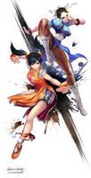 chunli and xiaoyu