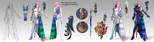 final fantasy xiii final version of Queling design
