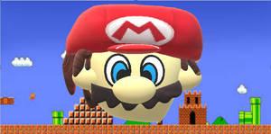 Super Mario in 3D Paint