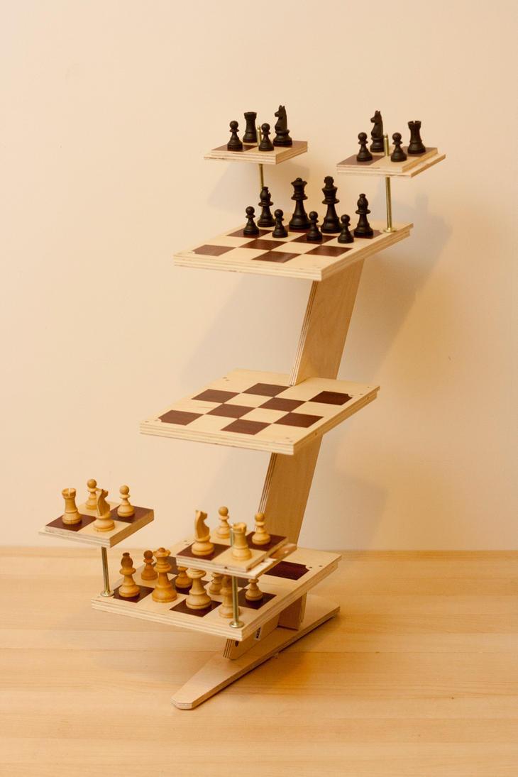 3d chess set by gmjhowe on deviantart - Star trek three dimensional chess ...