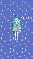 Pastel Girl: Allie the Alien