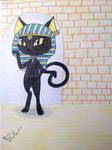 Fakemon Redraw: Bascat by UsagiAngelRabbit