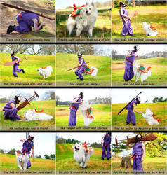 Okami Cosplay Comic: Susano and Amaterasu