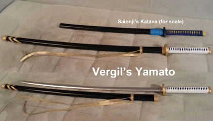 The Yamato, Vergil's Katana from Devil May Cry 3 by volko-dav