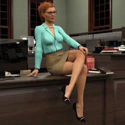 Alexandra Sexy Librarian