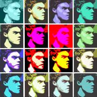 Warhol-Style Self Portrait by Piklom