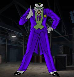 Joker V1 (Batman TAS) by DJ7493