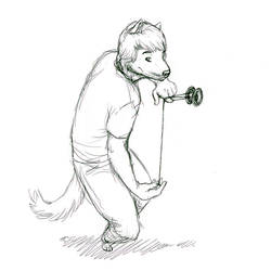 Jay yo Dog sketch