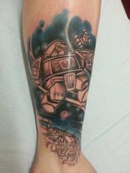 Cosmos Tattoo by Merewyn1066