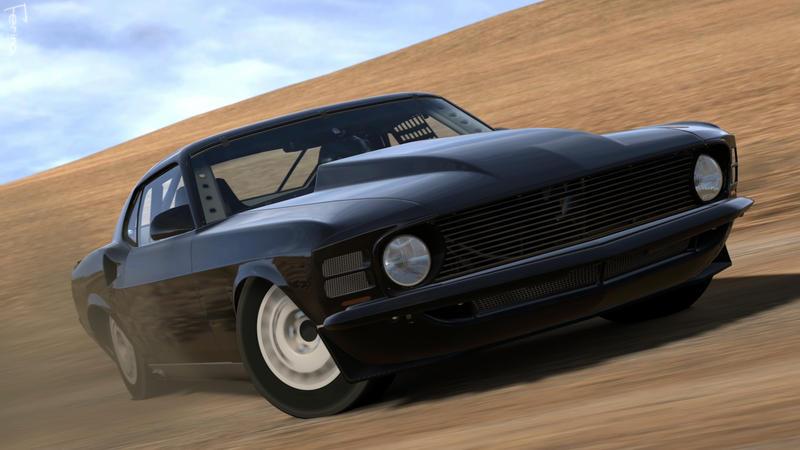Gran Turismo 5 - Shot F72 by Ferino-Design