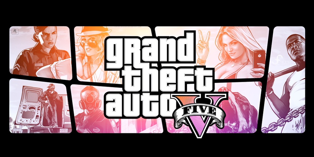 Fourth - GTA V Wallpaper Ver.2.0 by Ferino-Design