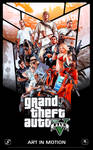 GTA V Poster - 200000 Views (Celebration)