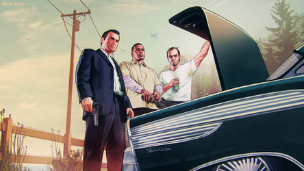 GTA V -1- ART IN MOTION 2 Series