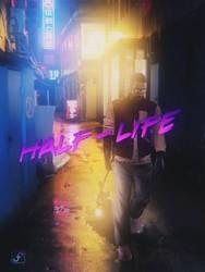 Gordon (Hotline Miami\Half-Life) by Ferino-Design