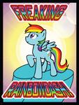 Freaking Rainbow Dash