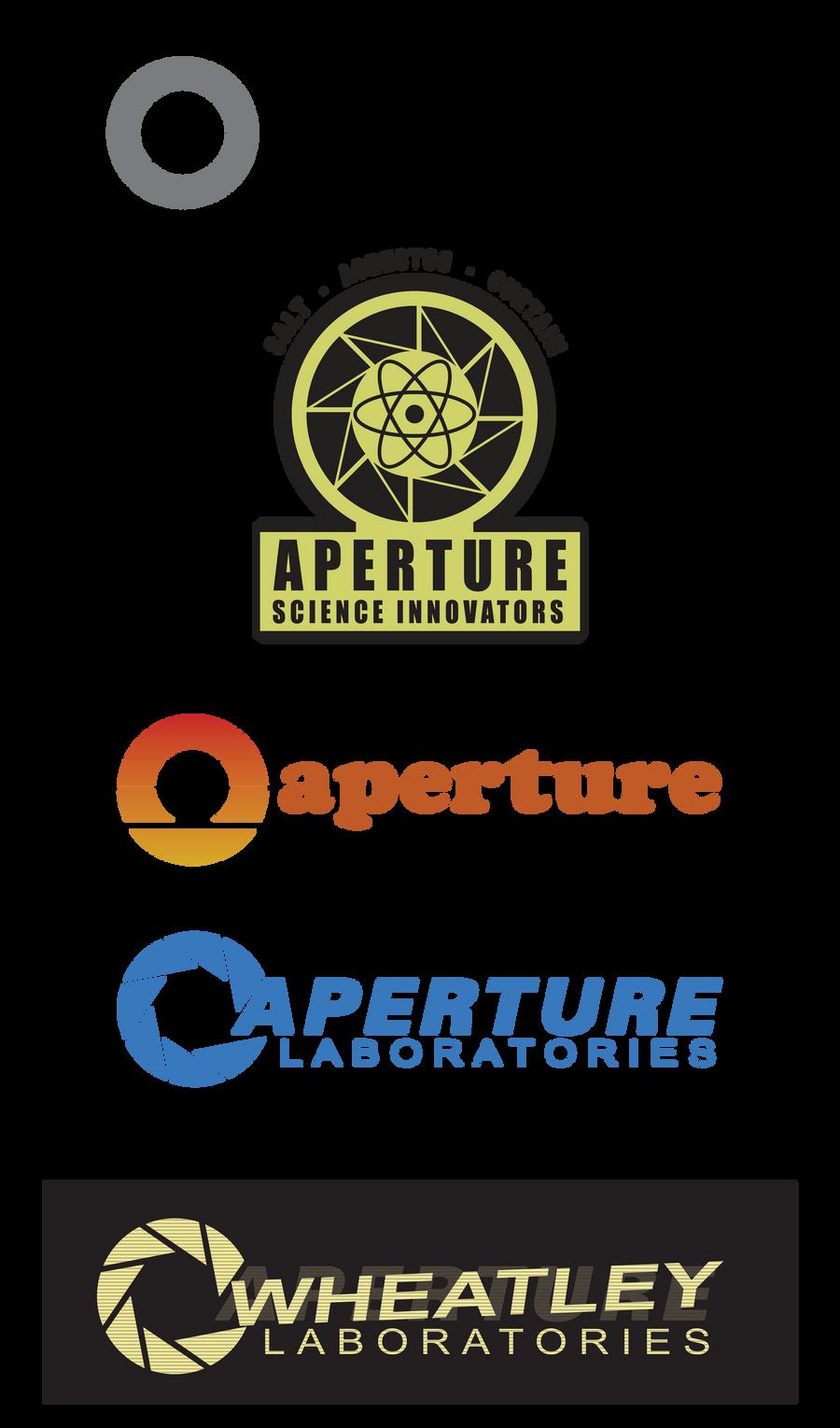 Aperture Through the Ages by GWBinvincible on DeviantArt Aperture Science Innovators Font