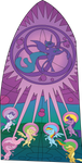 Season 2 Stained Glass Vector by GWBinvincible