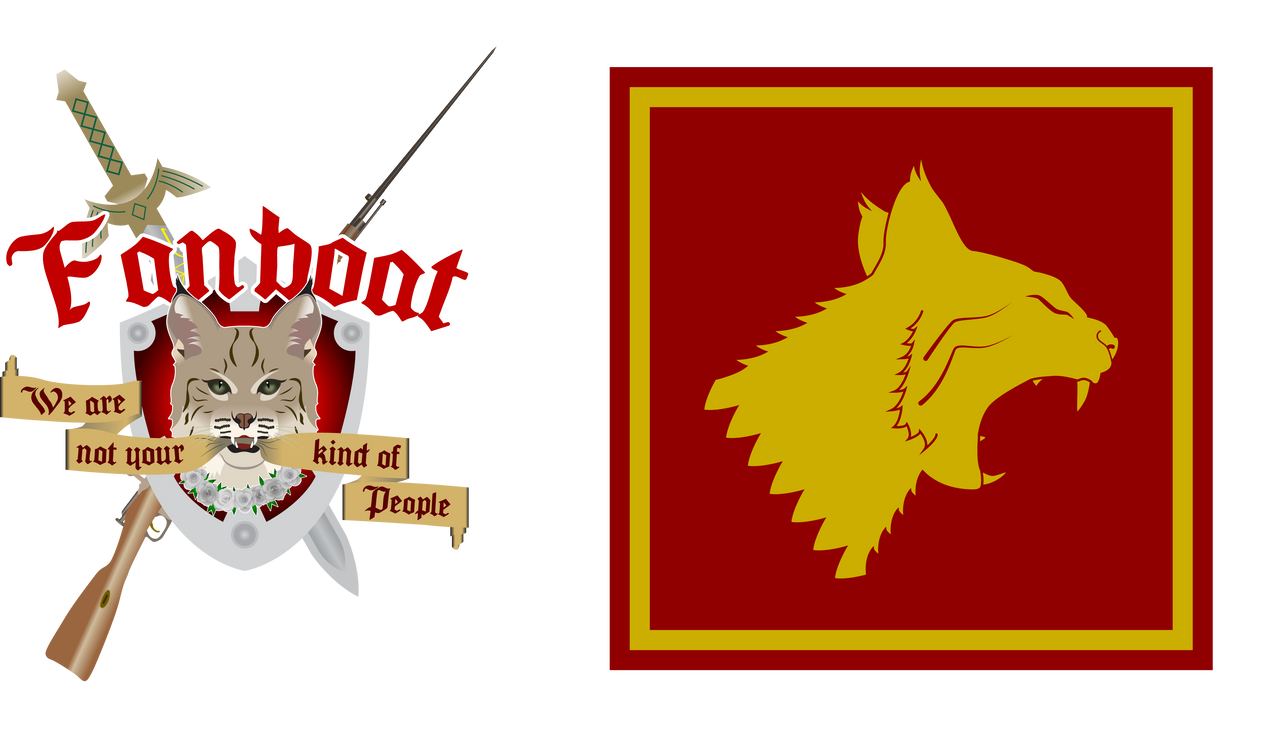 Banner and Sigil of House Fanboat by GWBinvincible